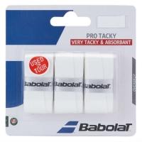 Обмотка для ручки Babolat Overgrip Pro Tacky x3 White 653039