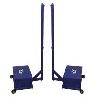 Стойки для бадминтона 70kg Atlet-70 x2 Blue IMP-A425