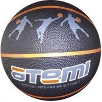 Мяч для баскетбола ATEMI BB13 Black/Orange