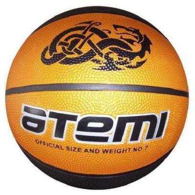 Мяч для баскетбола ATEMI BB15 Orange/Black