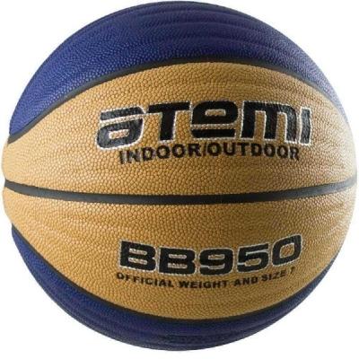 Мяч для баскетбола ATEMI BB950 Blue/Yellow