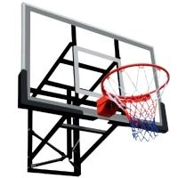 Баскетбольный щит DFC Игровой 1800x1050mm закаленное стекло 10mm BOARD72G