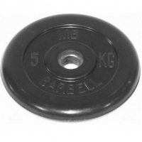 Диск обрезиненный 31mm 5kg MB-PltB31-5 MB Barbell