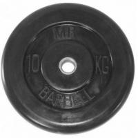 Диск обрезиненный 51mm 10kg MB-PltB51-10 MB Barbell