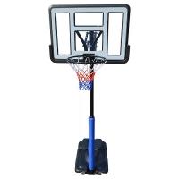 Стойка баскетбольная Мобильная DFC 1100x750mm h2.45-3.05m STAND44PVC1
