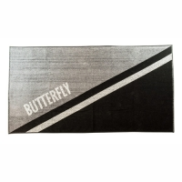 Полотенце Butterfly YAO Big Black/Grey