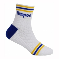 Носки спортивные Kumpoo Socks Junior KSO-62J x1 White/Blue