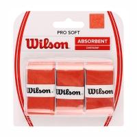 Овергрип Wilson Overgrip Pro Soft x3 Orange WRZ4040OR
