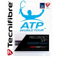 Овергрип Tecnifibre Overgrip Pro Contact Soft x3 White 52ATPCONSO