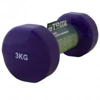 Гантель Винил 3kg x1 AD053 ATEMI