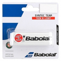 Обмотка для ручки Babolat Grip Syntec Team x1 White 670065