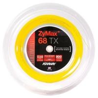 Струна для бадминтона Ashaway 200m Zymax TX 68 Yellow A14516