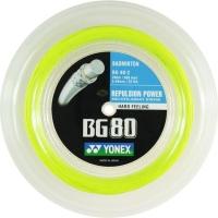 Струна для бадминтона Yonex 200m BG-80 Yellow