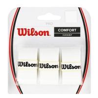 Овергрип Wilson Overgrip Pro x3 White WRZ4014WH