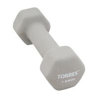 Гантель Неопрен 1.5kg PL550115 TORRES