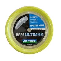 Струна для бадминтона Yonex 200m BG-66 Ultimax Yellow