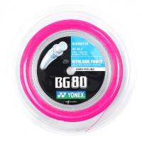 Струна для бадминтона Yonex 200m BG-80 Pink