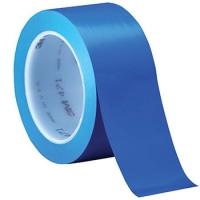 Скотч для разметки кортов виниловый 33m Blue