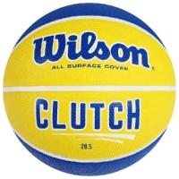 Мяч для баскетбола Wilson Clutch 285 Blue/Yellow WTB14198XB06