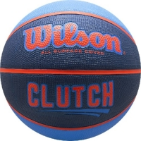 Мяч для баскетбола Wilson Clutch Blue/Orange WTB14197XB07