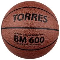 Мяч для баскетбола TORRES BM600 Brown B1002