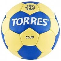 Мяч для гандбола TORRES Club Blue/Yellow H3004