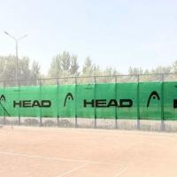 Ветрозащитный фон Logo 18x2m Light Green 289767 Head