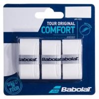 Обмотка для ручки Babolat Overgrip Tour Original x3 White 653047