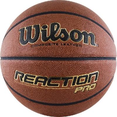Мяч для баскетбола Wilson Reaction PRO Brown WTB10137XB07