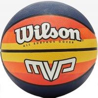 Мяч для баскетбола Wilson MVP BSKT Retro Black/Orange WTB9016XB
