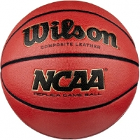 Мяч для баскетбола Wilson NCAA Replica Comp Defl Brown WTB0730XDEF