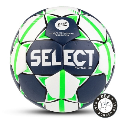 Мяч для гандбола SELECT Force DB White/Dark Blue 844920-002