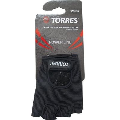 Перчатки для занятий спортом Black PL6047 TORRES