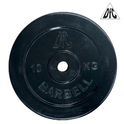 Диск обрезиненный 26mm 10kg Black WP021-26-10 DFC