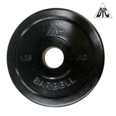 Диск обрезиненный 31mm 1.25kg Black WP021-31-1.25 DFC