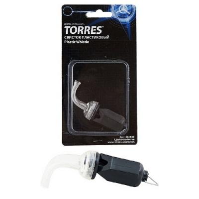 Свисток пластиковый без шарика Black SS1026 TORRES