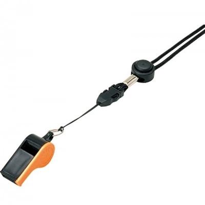Свисток пластмассовый с шариком Black/Orange WH-10BKO Mikasa