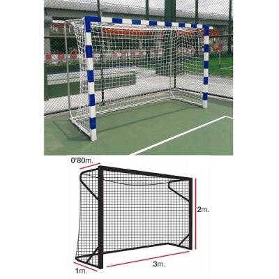 Сетка для ворот гандбол/футзал 4.0mm White 11444010000 EL LEON DE ORO