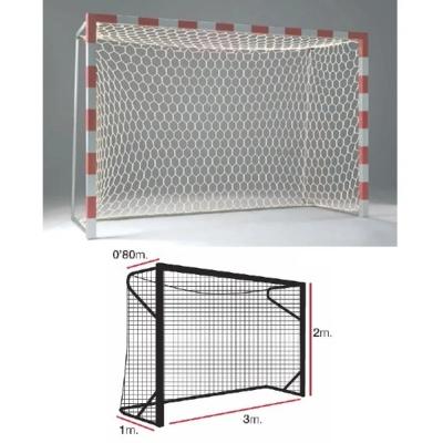 Сетка для ворот гандбол/футзал 4.0mm White 11444015000 EL LEON DE ORO