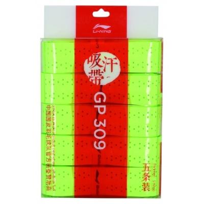 Обмотка для ручки Li-Ning Overgrip GP309 x5 Light Green AXJQ002-5