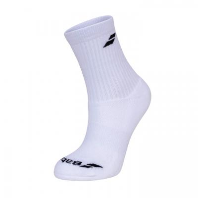 Носки спортивные Babolat Socks Mix U x3 White 5UA1411