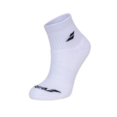 Носки спортивные Babolat Socks Quarter U x3 White 5UA1401-1000