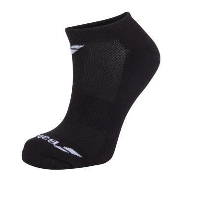 Носки спортивные Babolat Socks Junior Invisible x3 Black 5JA1461