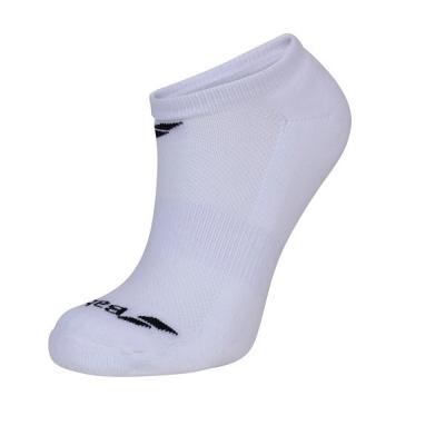 Носки спортивные Babolat Socks Junior Invisible x3 White 5JA1461