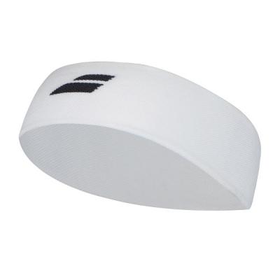 Повязка Babolat Headband Logo White 5UA1301