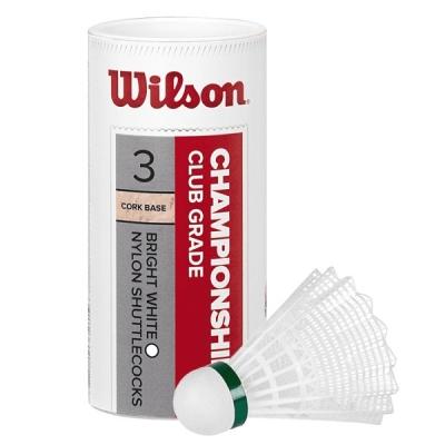 Воланы Wilson Championship x3 White WRT6040WH