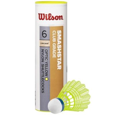 Воланы Wilson Smashstar x6 Yellow WRT6050YE