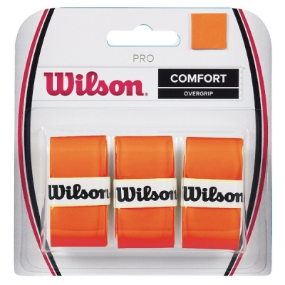 Овергрип Wilson Overgrip Pro x3 Orange WRZ470820