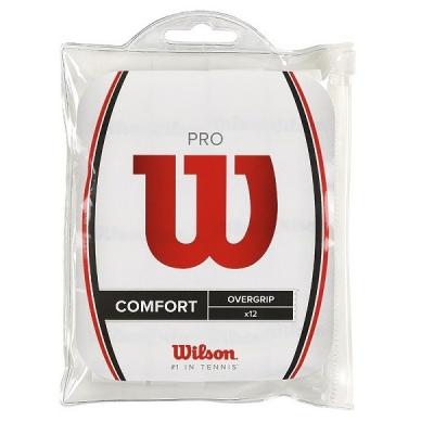 Обмотка для ручки Wilson Overgrip Pro x12 White WRZ4016WH