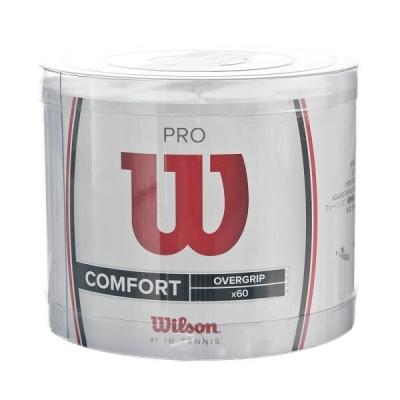 Обмотка для ручки Wilson Overgrip Pro Box x60 White WRZ4024WH